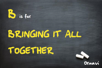 Blackboard - B is for Bringing it all together