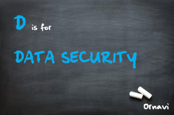 Blackboard - D is for data security