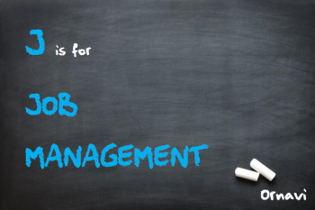 Blackboard - J is for Job Management