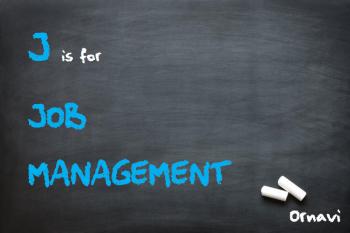 Blackboard - J is for Job Management