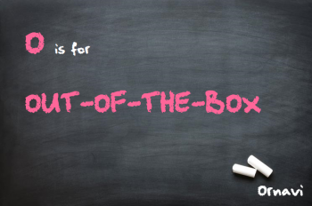 Blackboard - O is for Out of the Box