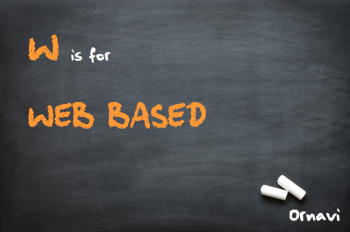 Blackboard - W is for Web Based