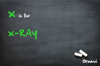 Blackboard - X is for X-Ray
