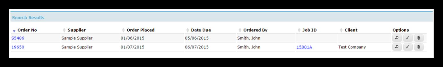 Delete a Purchase Order
