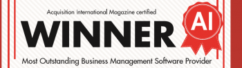 Most Outstanding Business Management Software Provider 2016 certificate cropped