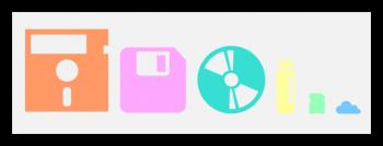 silhouette style storage device timeline