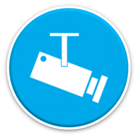 business continuity icon - cctv camera