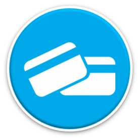 Reduced on going costs icon - debit cards