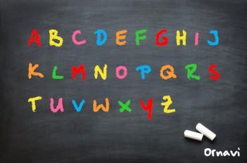 Blackboard - A to Z of Ornavi