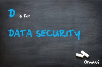 Blackboard - D is for data security