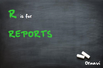 Blackboard - R is for Reports